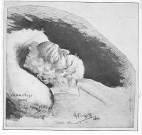 by Paul de Launay 1899 Victor Hugo Mort, afterBonnat