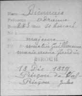1819 Adrienne Biennais-Jules PdeValpincon marriage StRoch